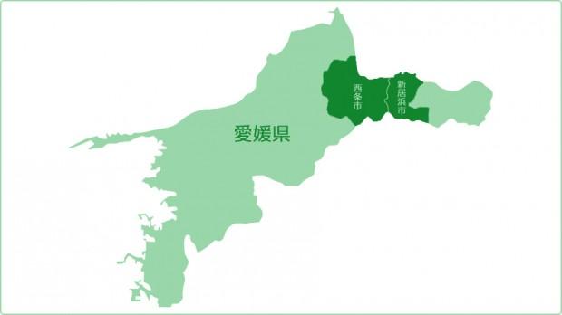 概要愛媛地図